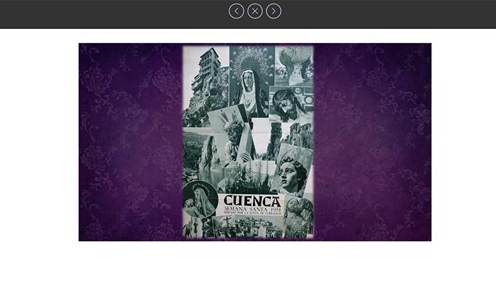 Exposición virtual con 62 fotografías y carteles históricos de la Semana Santa de Castilla-La Mancha