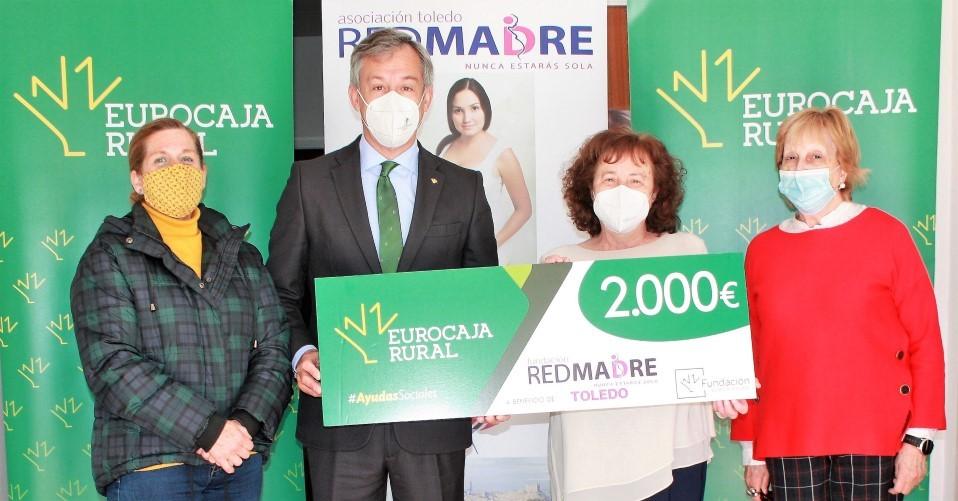 Fundación Eurocaja Rural premia el proyecto de Red Madre que ofrece alimentos y bienes de primera necesidad a madres y recién nacidos