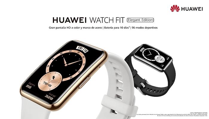 Huawei lanza el Watch Fit Elegant Edition, el nuevo integrante de la serie Watch Fit con un acabado más premium