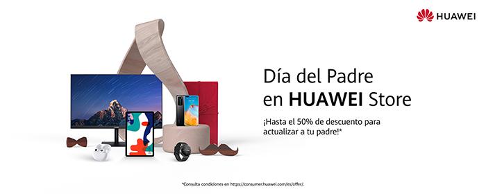 Huawei se prepara para el Día del Padre con nuevas promociones a través de HUAWEI Store