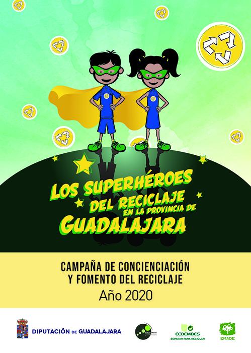 La Diputación de Guadalajara inicia una campaña de concienciación sobre reciclaje entre escolares de la provincia