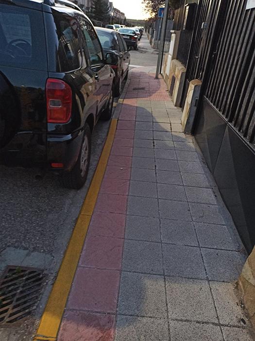 IU Azuqueca denuncia los problemas que existen en el barrio de Vallehermoso
