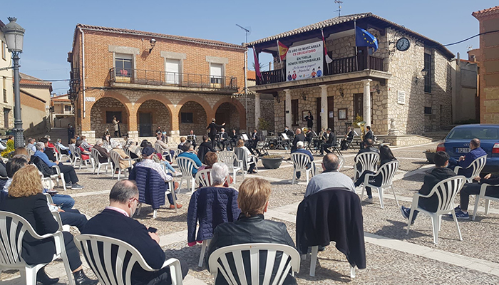 La Banda de Música de la Diputación de Guadalajara retoma sus actuaciones en público con un magnífico concierto en Torija