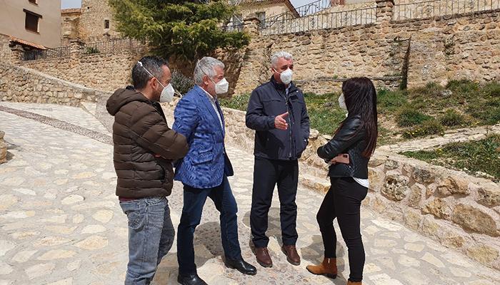 La Diputación de Guadalajara invierte casi 100.000 euros en tres municipios de la comarca del Señorío de Molina