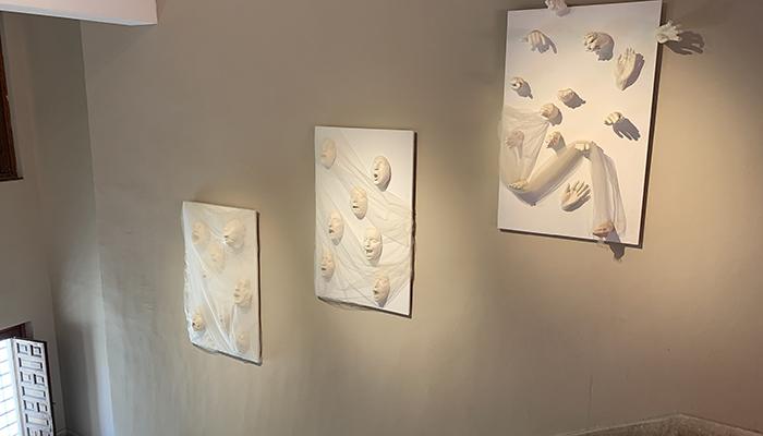 La obra colectiva ´Grito´, pieza destacada del Museo provincial de Guadalajara para los meses de abril y mayo
