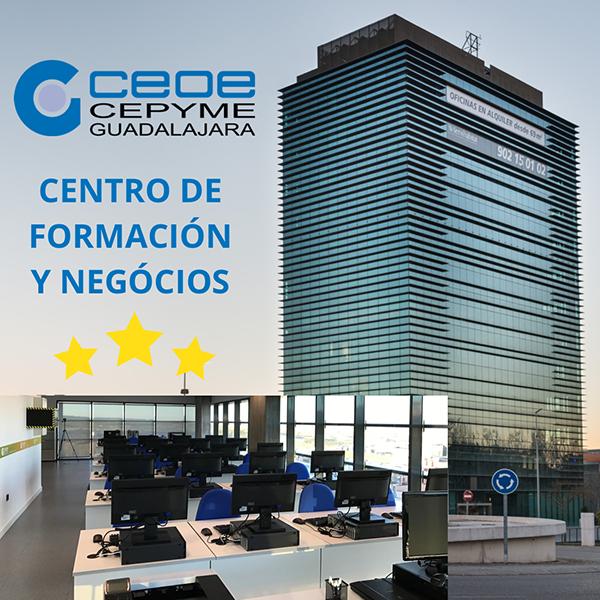 Los alumnos califican de excelente la formación impartida por CEOE-Cepyme Guadalajara