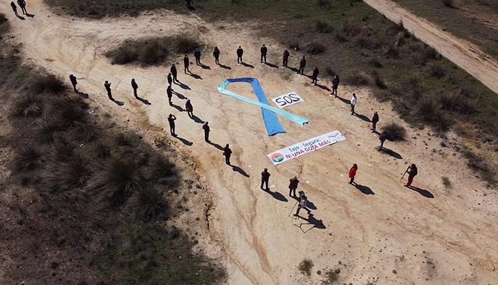 Unidad contra el Trasvase Los veintidós alcaldes Ribereños juntos para reclamar las necesidades de la cuenca cedente