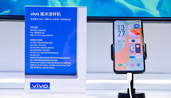 Vivo realiza en MWC Shanghai 2021 una demostración de vídeo 8K UHD, utilizando para ello la tecnología 5G mmWave