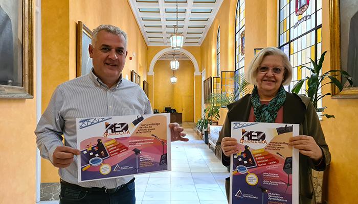 """Abierta la convocatoria para participar en """"La Red Cultural de Guadalajara"""""""