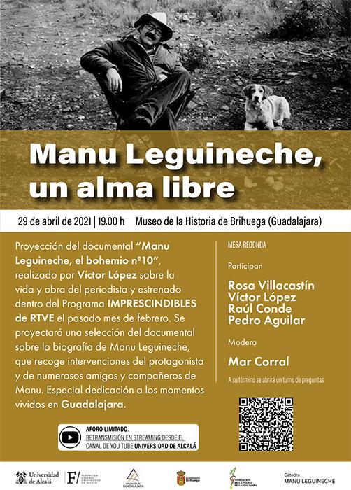 Brihuega acoge la proyección del documental Manu Leguineche, el bohemio nº 10, el día 29 de abril