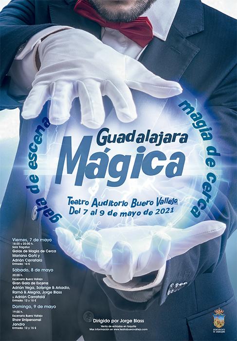 El festival 'Guadalajara Mágica 2021' traerá en mayo a la ciudad un elenco de los mejores magos del mundo
