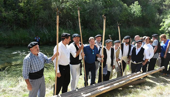 El Gobierno regional declara Bien de Interés Cultural, con la categoría de bien inmaterial, los Gancheros del Alto Tajo