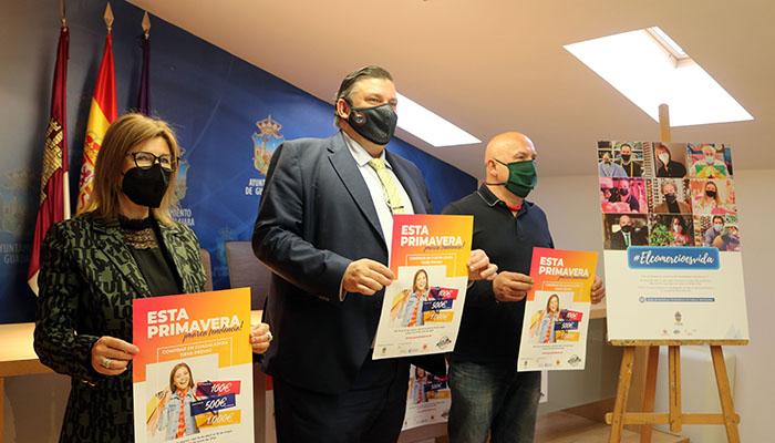 #ElComercioEsVida El Ayuntamiento de Guadalajara invita a realizar las compras del Día de la Madre en el comercio local