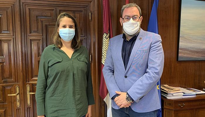 Elena Cañeque García coge el testigo como nueva delegada de Igualdad del Gobierno regional en la provincia de Guadalajara