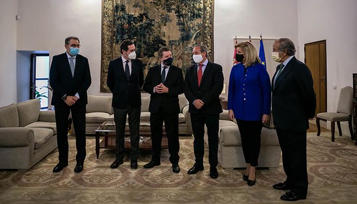 Fundación CEOE, CECAM y la Comunidad de Castilla-La Mancha firman el acuerdo de adhesión al 'Plan Sumamos. Salud+Economía'