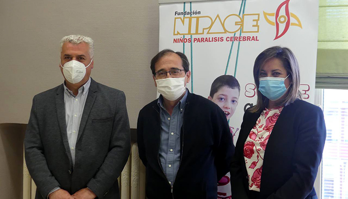 La Diputación de Guadalajara reafirma su compromiso con los proyectos de NIPACE y Banco de Alimentos