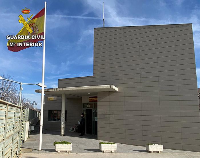 La Guardia Civil detiene a una mujer en Azuqueca por robo con intimidación