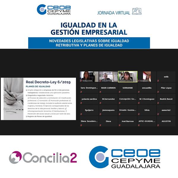 Las empresas de la provincia de Guadalajara se interesan por la igualdad en la gestión empresarial