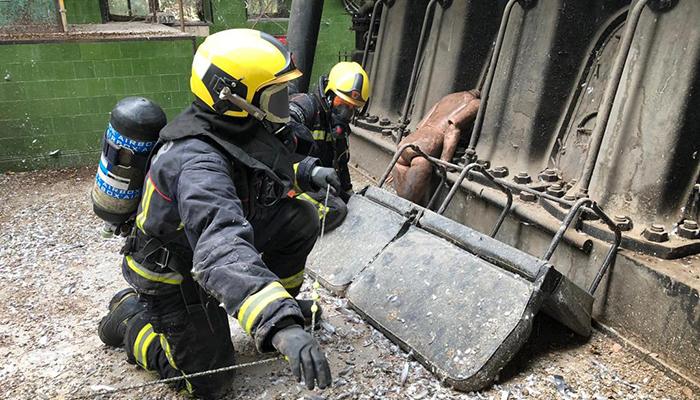 Los bomberos de la región actuaron durante 2020 en más de 10.000 ocasiones, tras ser activados por el Servicio de Emergencias 1-1-2