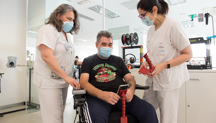 Más de 200 pacientes se han beneficiado de la tecnología de impresión en 3D en el Hospital Nacional de Parapléjicos