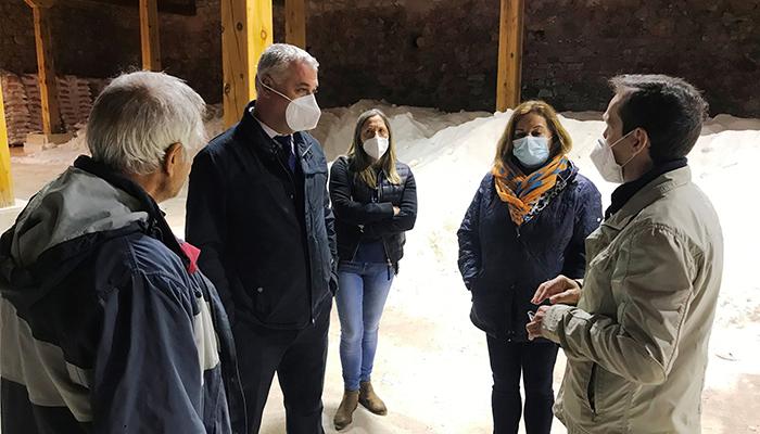 Saelices de la Sal rehabilitará este año la parte superior de las salinas con ayuda de la Diputación de Guadalajara