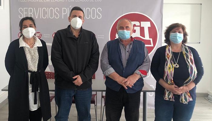 UGT se reúne con representantes de los enfermeros de Salud Mental en Castilla la Mancha