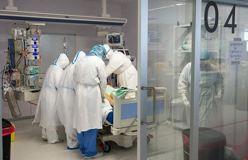 Viernes 23 de abril Los nuevos contagios por infección de covid siguen desbocados en Guadalajara y logran mantenerse en Cuenca