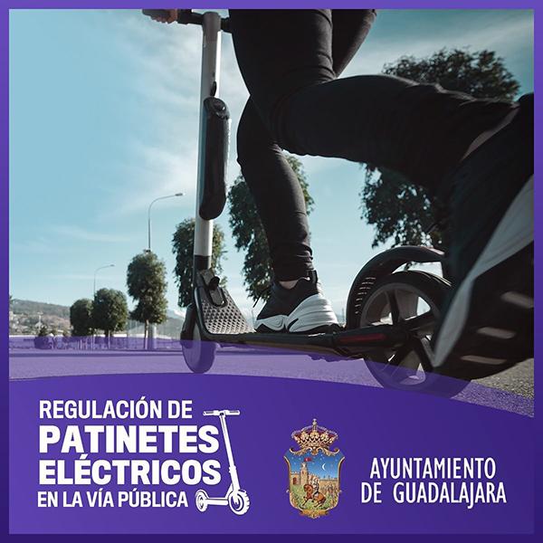 Ya está prohibido circular con un patinete eléctrico por las aceras de Guadalajara