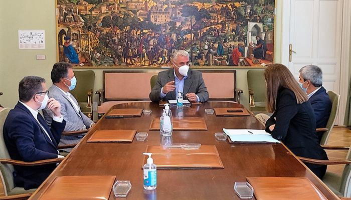 Diputación de Guadalajara y APEC se coordinan para facilitar la ejecución de inversiones en los pueblos por empresas de la provincia