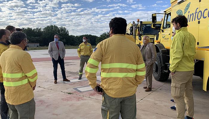 El Gobierno regional despliega en Guadalajara un dispositivo de 499 efectivos y 68 medios terrestres y aéreos para luchar contra los incendios forestales
