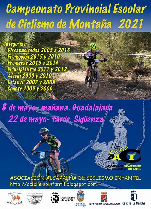 El próximo 22 de mayo tendrá lugar el Campeonato Provincial de Ciclismo de Montaña en Sigüenza