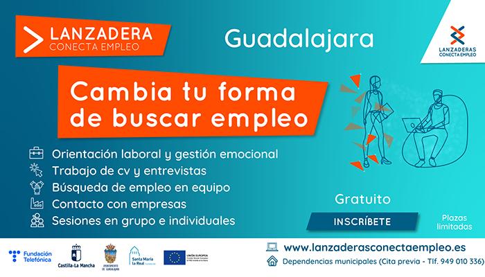 Guadalajara contará a partir de julio con una nueva Lanzadera Conecta Empleo
