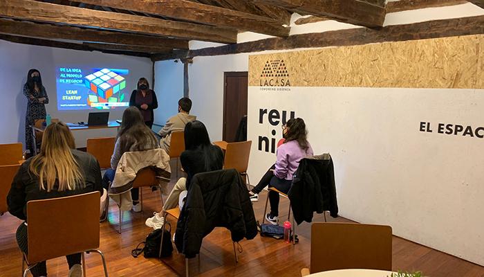 Inaugurado en Sigüenza el Curso de Emprendimiento Juvenil CLM impartido por la EOI