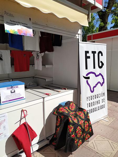 La Federación Taurina de Guadalajara se presenta en sociedad en la V Feria de Asociaciones de Guadalajara