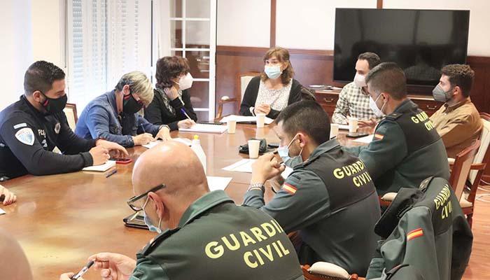 La Junta Local de Seguridad de Cabanillas aborda la situación de seguridad ciudadana y la problemática de las ocupaciones ilegales