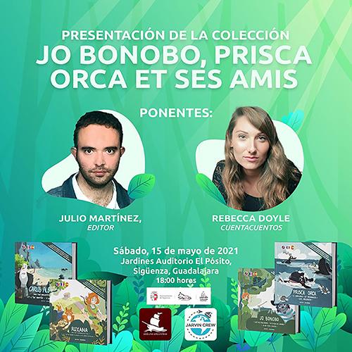 Océano Atlántico Editores y Ayuntamiento organizan dos eventos literarios en Sigüenza