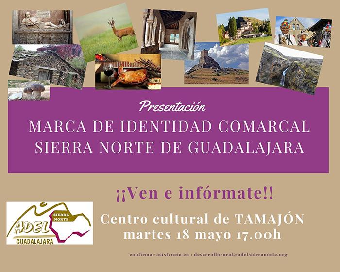 Presentación  Identidad comarcal Tamajón