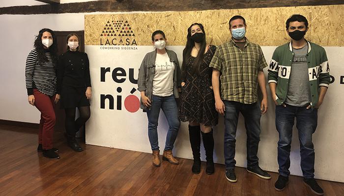Seis alumnos del curso tecnológico propiciado por ADEL ya trabajan en el centro coworking de Sigüenza