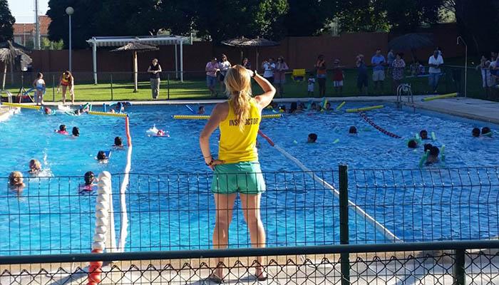 Suvicasa busca socorristas para la piscina de Cabanillas este verano