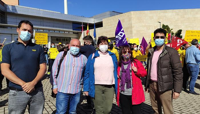 Unidas Podemos – IU Guadalajara apoya la convocatoria del GEACAM en Toledo