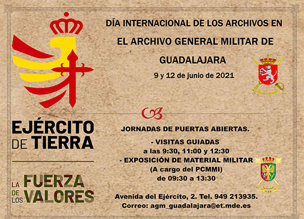 El Archivo General Militar de Guadalajara abre sus puertas al público con motivo del Día Internacional de los Archivos