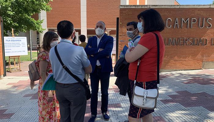 Deseos institucionales de suerte y éxitos al alumnado que desde hoy se presenta a los exámenes de la EVAU en Guadalajara