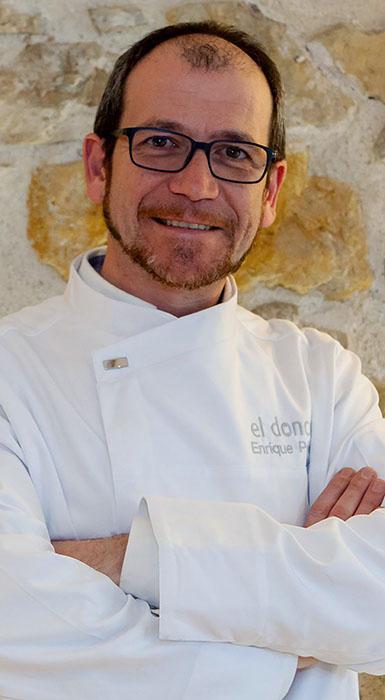 El Estrella Michelin Enrique Pérez, preside el jurado del II Campeonato de Pinchos y Tapas de Castilla y León