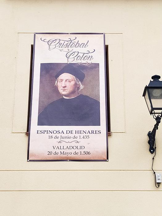 Espinosa de Henares celebra el 586 aniversario del nacimiento de Cristóbal Colón