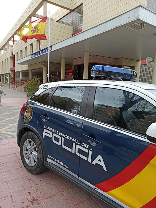La Policía Nacional de Guadalajara detiene a dos jóvenes que acababan de cometer tres robos con intimidación