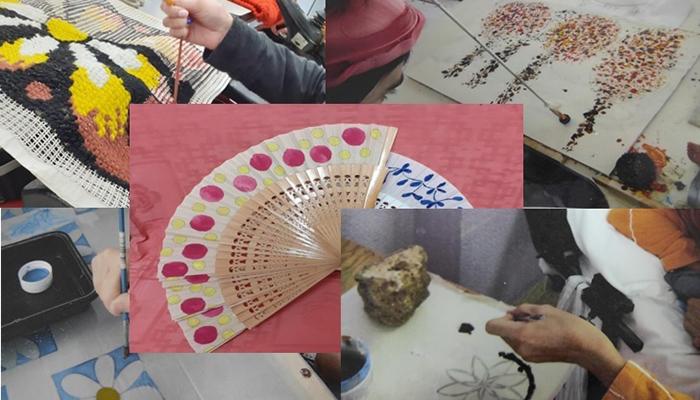 La Sala Multiusos de Diputación de Guadalajara acoge una exposición de trabajos del CAMF