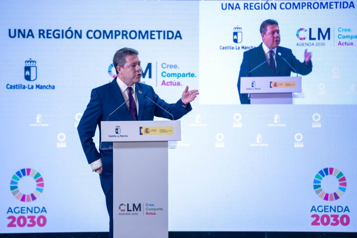 Page anuncia que los presupuestos regionales de 2022 estarán alineados con los objetivos de desarrollo sostenible de la Agenda 2030