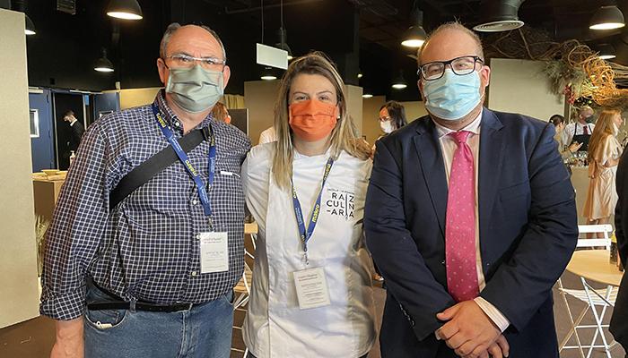 Rubén García apoya a los cocineros de Guadalajara en Madrid Fusión
