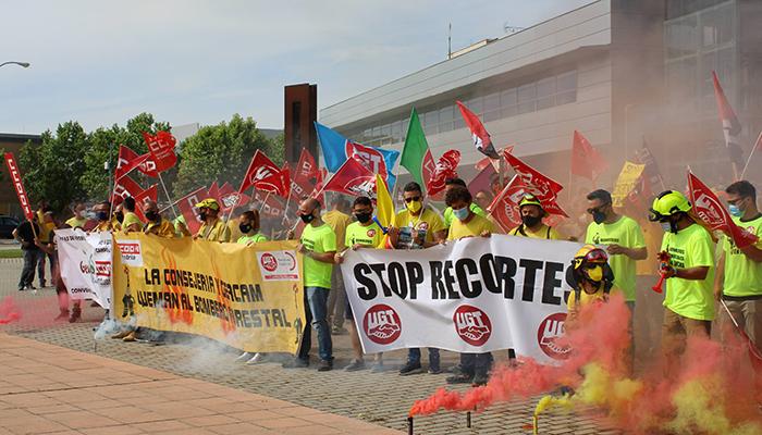 """UGT considera """"ofensivas"""" y una """"falta de respeto"""" las últimas declaraciones del consejero en las que dice no entender la conflictividad laboral en GEACAM"""