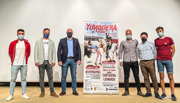 Yunquera de Henares tendrá una corrida de rejones y un concurso internacional de recortadores